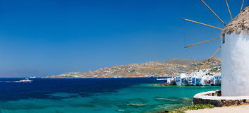 Mykonos island Stock Images