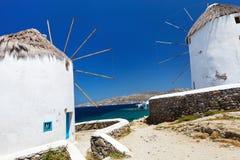 Mykonos island Royalty Free Stock Photography