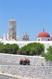 Mykonos kyrkapanagia Royaltyfri Bild