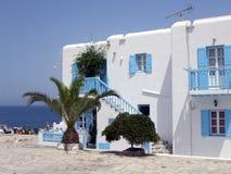 Mykonos Magic. Typical Greek houses on Mykonos Island, Greece, Europe Stock Photos