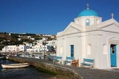 Free Mykonos Old Port Stock Photos - 5563773