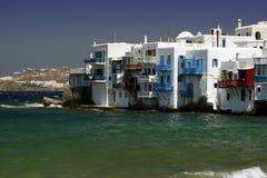 Mykonos - petite Venise Images libres de droits