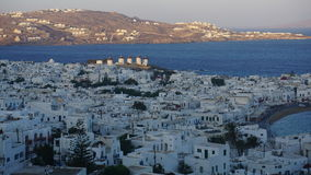 Mykonos schronienie, Mykonos wyspa, Grecja Zdjęcia Royalty Free