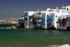 Mykonos - Small Venice Royalty Free Stock Images
