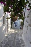 Mykonos solo Foto de archivo libre de regalías