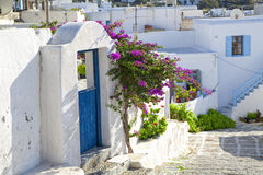 Mykonos Street Stock Images