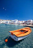 Mykonos Town Royalty Free Stock Photo