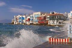 Mykonos town, Greece Stock Photography