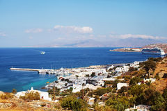 Mykonos Town, Greece Stock Image