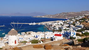 Mykonos town and island,Greece Stock Photography