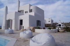 Mykonos villa Royalty Free Stock Photography