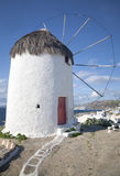 Mykonos Windmill Stock Photos