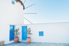 Mykonos windmill Royalty Free Stock Photo