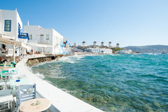 Mykonos windmill Royalty Free Stock Photography
