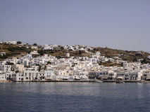 Mykonos Windmills Greek Islands royalty free stock photography