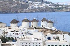 Mykonoseiland in Griekenland Stock Foto