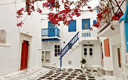Mykonoseiland in Griekenland Royalty-vrije Stock Afbeeldingen