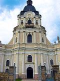 Mykulyntsi, Ουκρανία - 1 Μαΐου 2008: Ρωμαιοκαθολική εκκλησία της ιερής τριάδας στοκ φωτογραφία με δικαίωμα ελεύθερης χρήσης