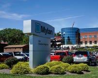 Mylan facility in Morgantown WV Royalty Free Stock Photos