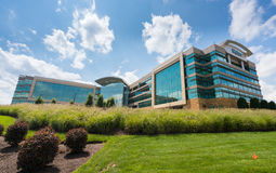 Mylan Headquarters in Canonsburg, Pennsylvania. CANONSBURG, PENNSYLVANIA, USA - AUGUST 17: Exterior of Mylan Global Headquarters on August 17, 2017 in Canonsburg Stock Images
