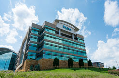 Mylan Headquarters in Canonsburg, Pennsylvania. CANONSBURG, PENNSYLVANIA, USA - AUGUST 17: Exterior of Mylan Global Headquarters on August 17, 2017 in Canonsburg Royalty Free Stock Images