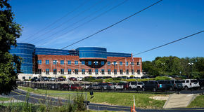 Mylan设施在摩根敦WV 库存图片
