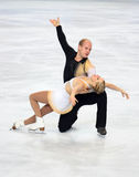 Mylene BRODEUR / John MATTATALL (CAN) Royalty Free Stock Photo