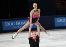 Mylene BRODEUR / John MATTATALL (CAN) Stock Photo