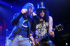 Myles Kennedy and Slash Stock Photo