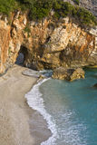 Mylopotamos beach at Pelion in Greece Stock Image