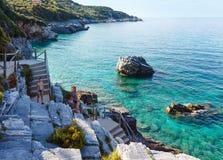 Mylopotamos beach summer view (Greece) Stock Photography