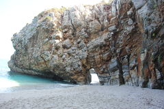 Mylopotamos Pelion Griechenland Stockbild