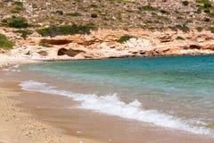 Mylopotas beach, Ios island, Cyclades, Aegean, Greece Stock Image