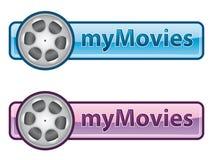 εικονίδιο mymovies Στοκ εικόνες με δικαίωμα ελεύθερης χρήσης