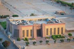 Myndighet för investeringen och fria zoner som bygger på utställningland, Nasr City område, Kairo, Egypten royaltyfri bild