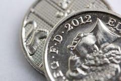 mynt 2012 Royaltyfri Fotografi