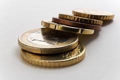 mynt arkivfoto