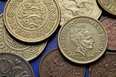 Mynt av Danmark Arkivfoton