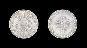 Mynt av Mocambique Arkivfoto