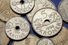 Mynt av Norge Arkivfoto