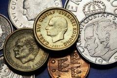 Mynt av Sverige arkivfoton