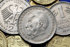 Mynt av Tyskland Royaltyfri Foto