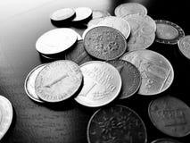 Mynt royaltyfria bilder
