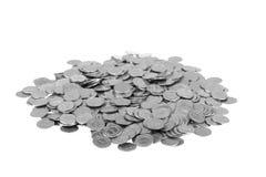mynt ett oty polermedel z Arkivbilder
