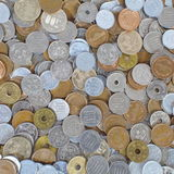 Mynt för japansk yen Arkivbild