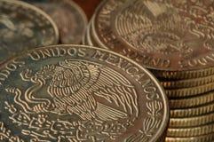 Mynt för mexicansk Peso arkivbild