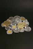 Mynt från hela världen arkivfoto