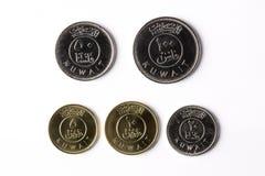 Mynt från Kuwait royaltyfri bild