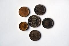 Mynt från Sverige royaltyfria bilder