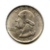 mynt gammala USA Arkivfoton